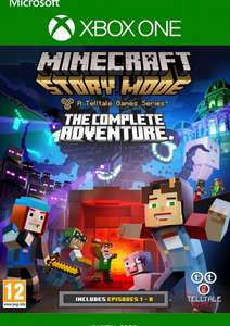 CD Keys: Minecraft Story Mode The Complete Adventure XBox One