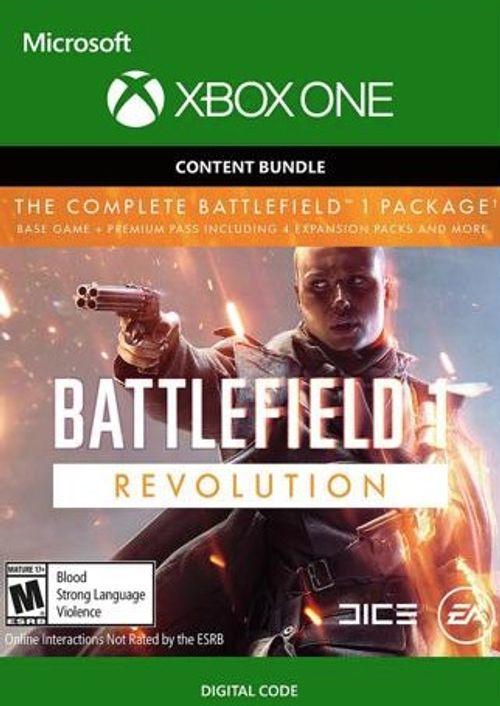 CD Keys: Battlefield 1 Revolution + Battlefield 1943 Xbox One