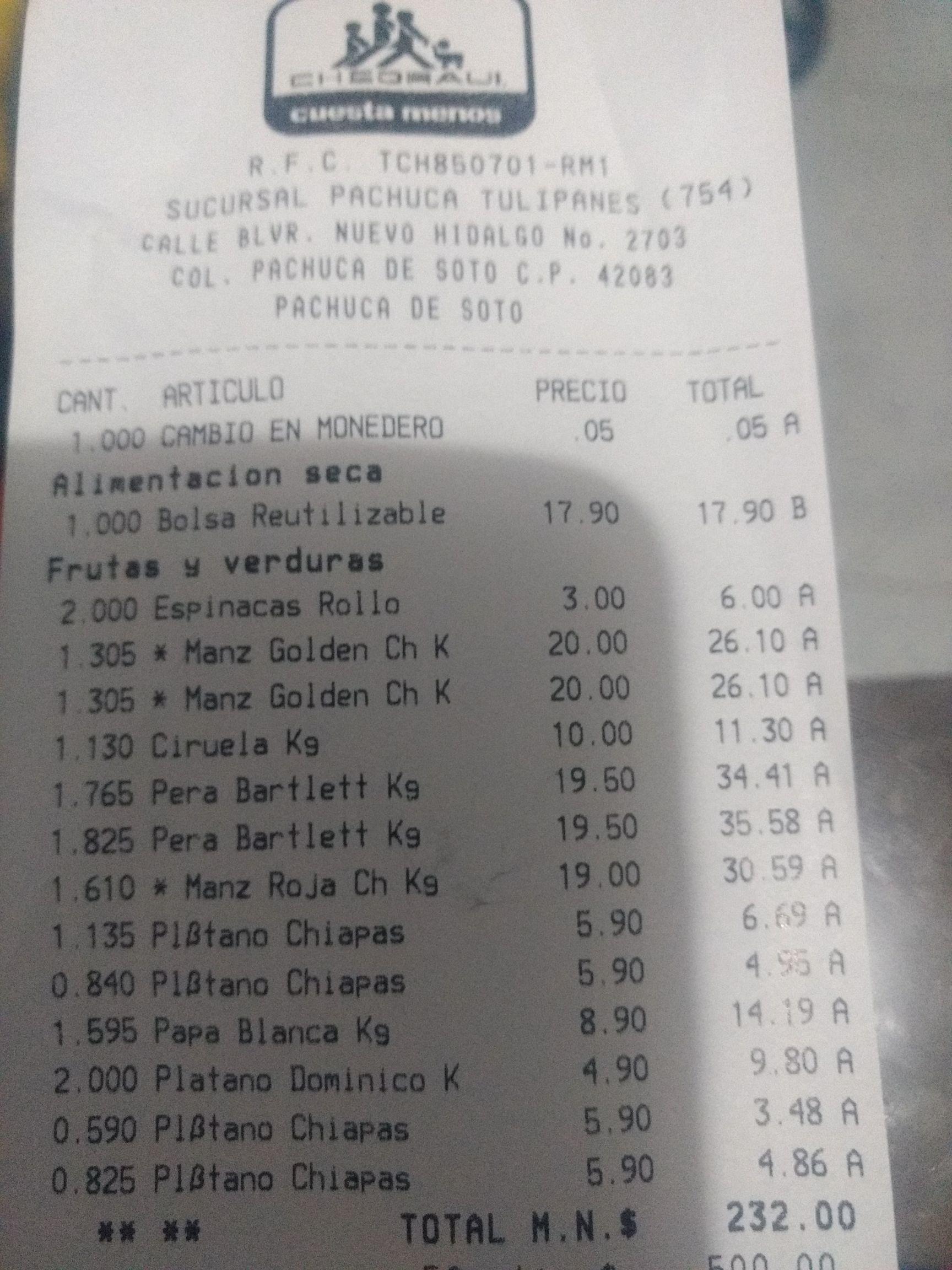 Chedraui Tulipanes PACHUCA/UNICAMENTE: Ofertas frutas y verduras