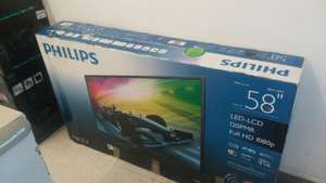 "Office Depot: LED Smart TV Philips 58"" 1080p Full HD $7650 + Regalo de Soporte + Bocina Logitech Z623"
