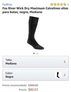 Amazon: Calcetines Fox River talla mediana