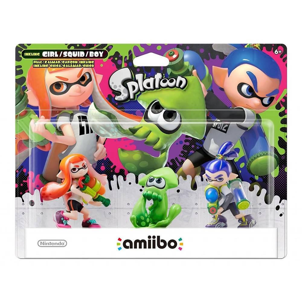 Walmart: Amiibo Serie Splatoon 3 Pack $729