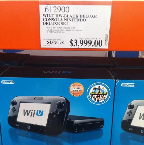 Costco: Xbox 360 con Kinect $1,999 PS3 de 250GB $2,499, WiiU $3,990 y más