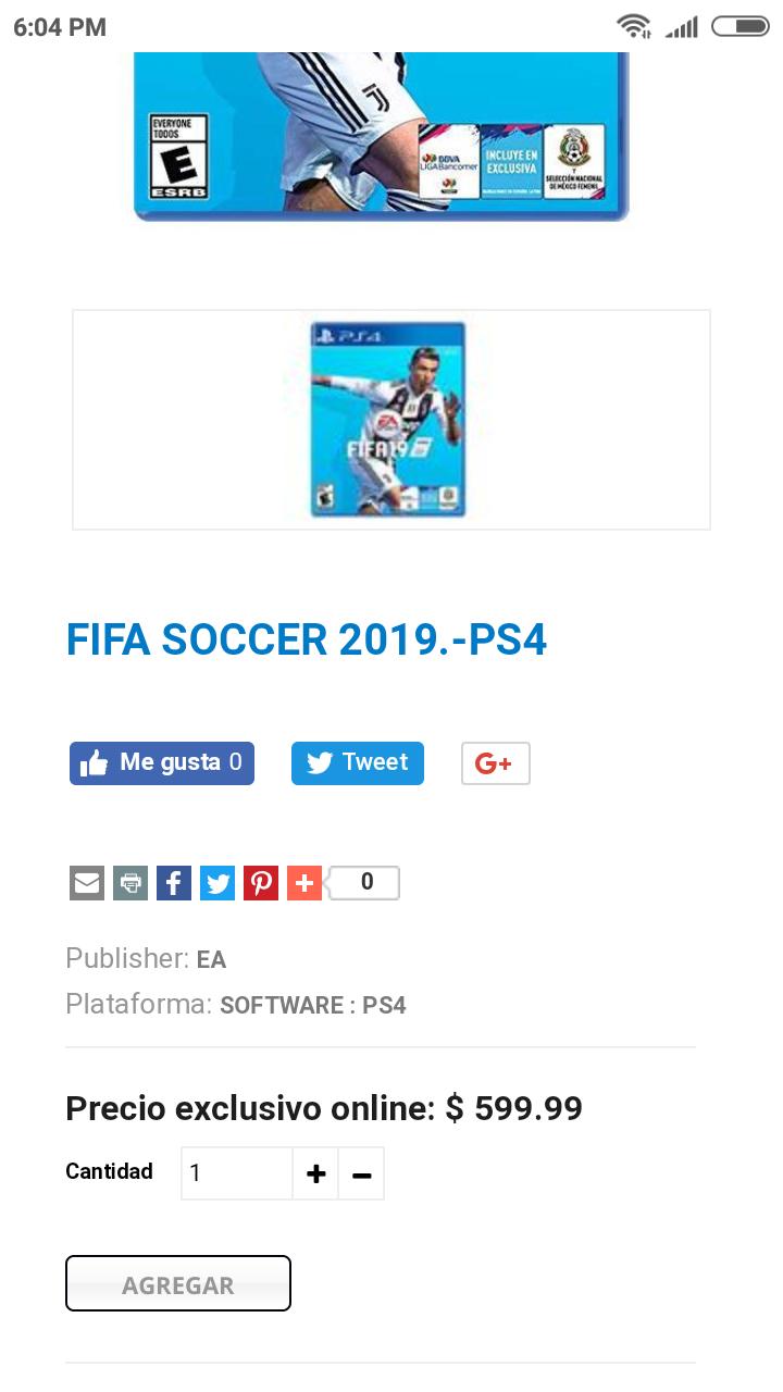 Gamers: FIFA 19 PS4 y Xbox One a buen precio (para quien no alcanzó los de Amazon)