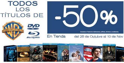 Blockbuster: 50% de descuento en películas y series de Warner