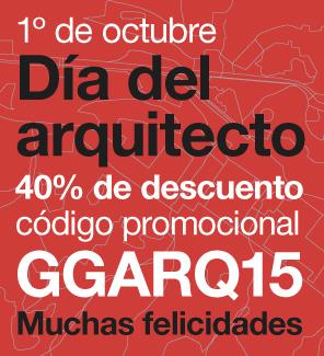 GG: 40% de descuento en todos los libros de Arquitectura GGili