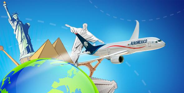 Club Premier: 50% de descuento en KmP para volar con Aeroméxico a París o Madrid en temporada alta