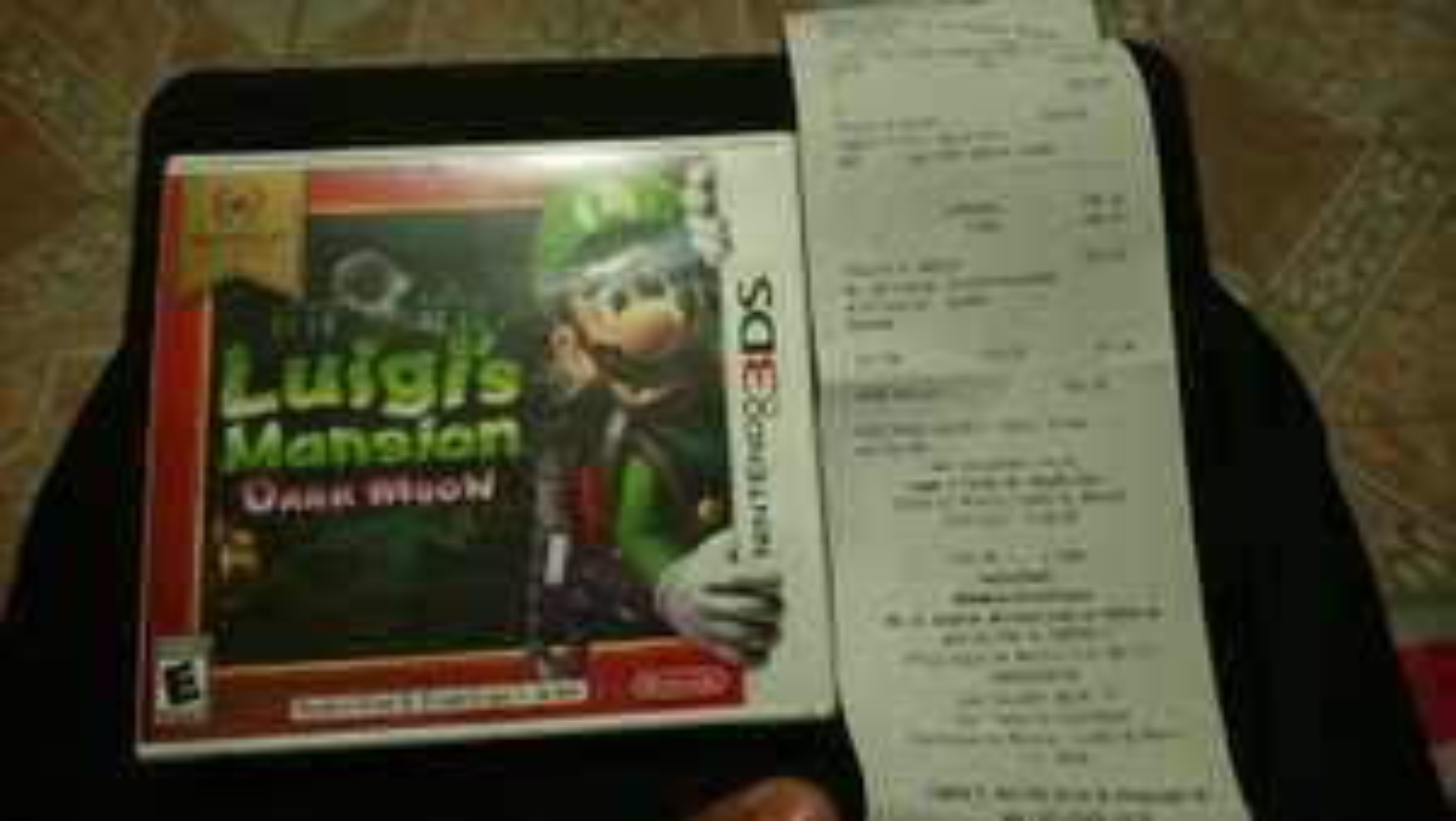 RadioShack: Luigi's Mansion Dark Moon 3DS y otros títulos