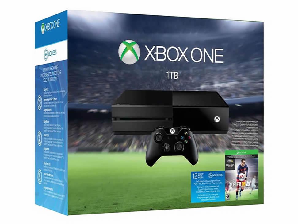 Liverpool: Consola Xbox One 1 TB + FIFA 16 + 12 meses EA Access $6,842