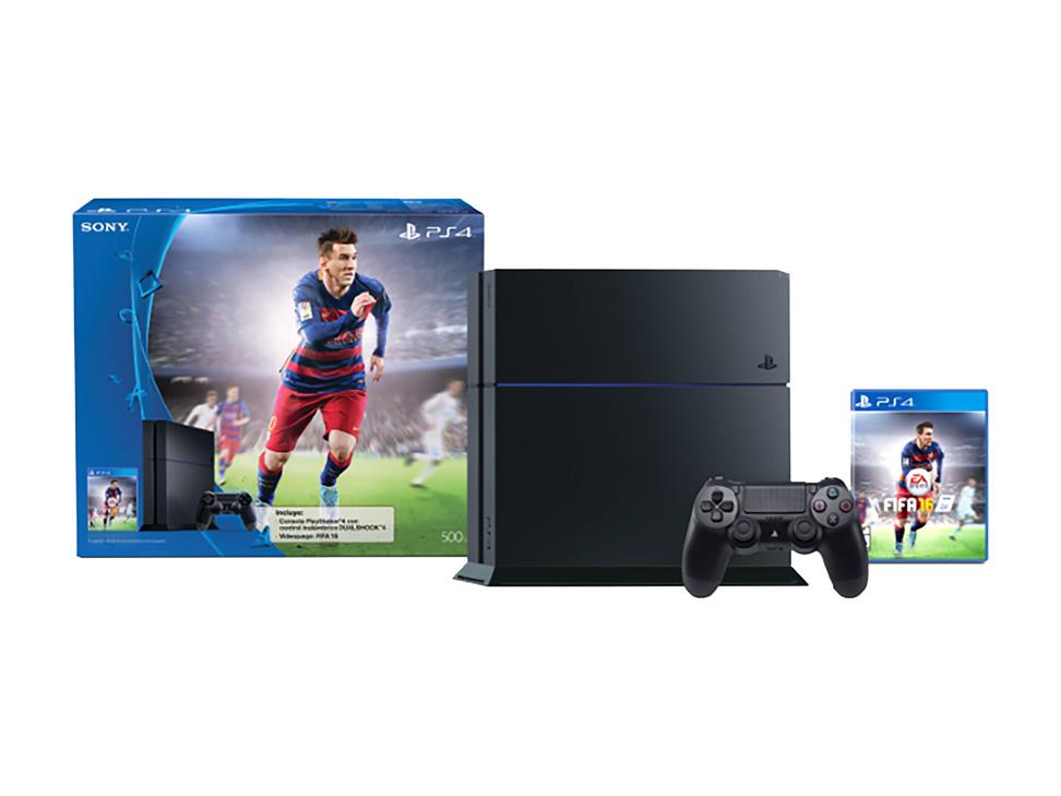 Liverpool: PS4 + FIFA 16 $6,119