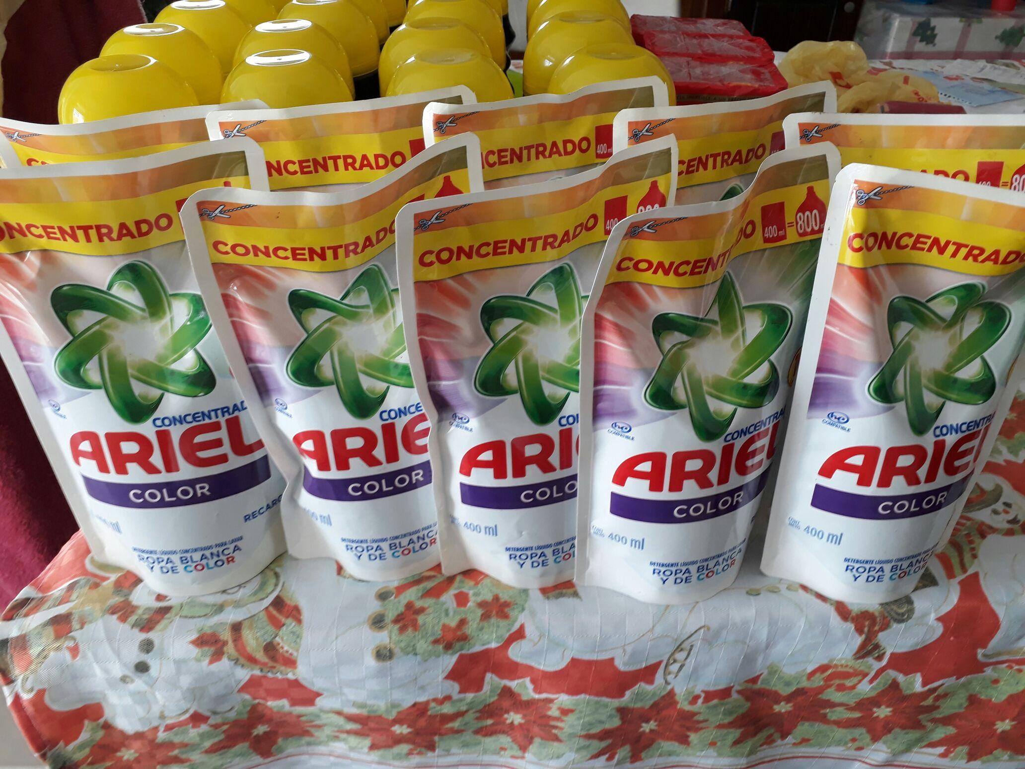 Soriana Hiper jabon liquido Ariel y otras ofertas