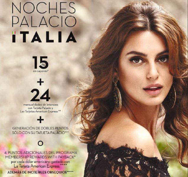Palacio de Hierro: Noches Palacio Italia 2013