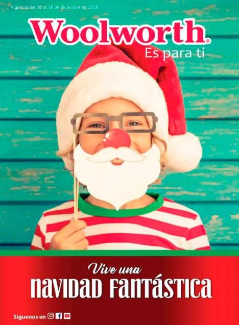 Woolworth: Folleto Navidad Fantástica: 30% de descuento en selección de suéteres, chamarras, abrigos, chalecos y sudaderas... y más
