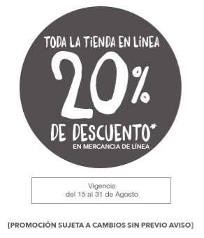 Martí: 20% de descuento en tienda online