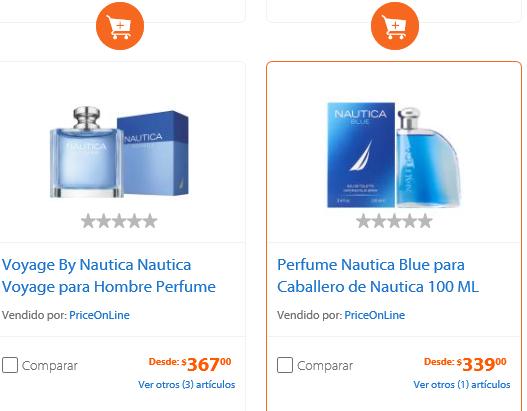 Walmart: Locion nautica blue caballero eau de toilette 100 ml