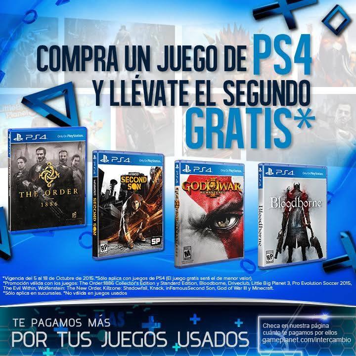 Gameplanet: Segundo Juego Gratis para PS4