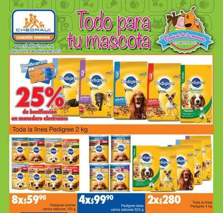 Chedraui: folleto de ofertas (artículos para mascotas y más)