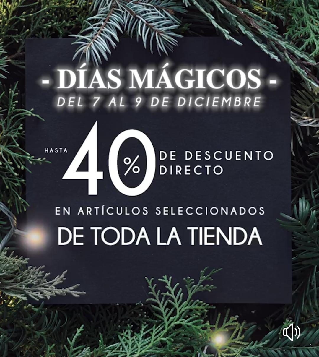 The Home Store: Días Mágicos: Hasta 40% de descuento directo en artículos seleccionados de toda la tienda