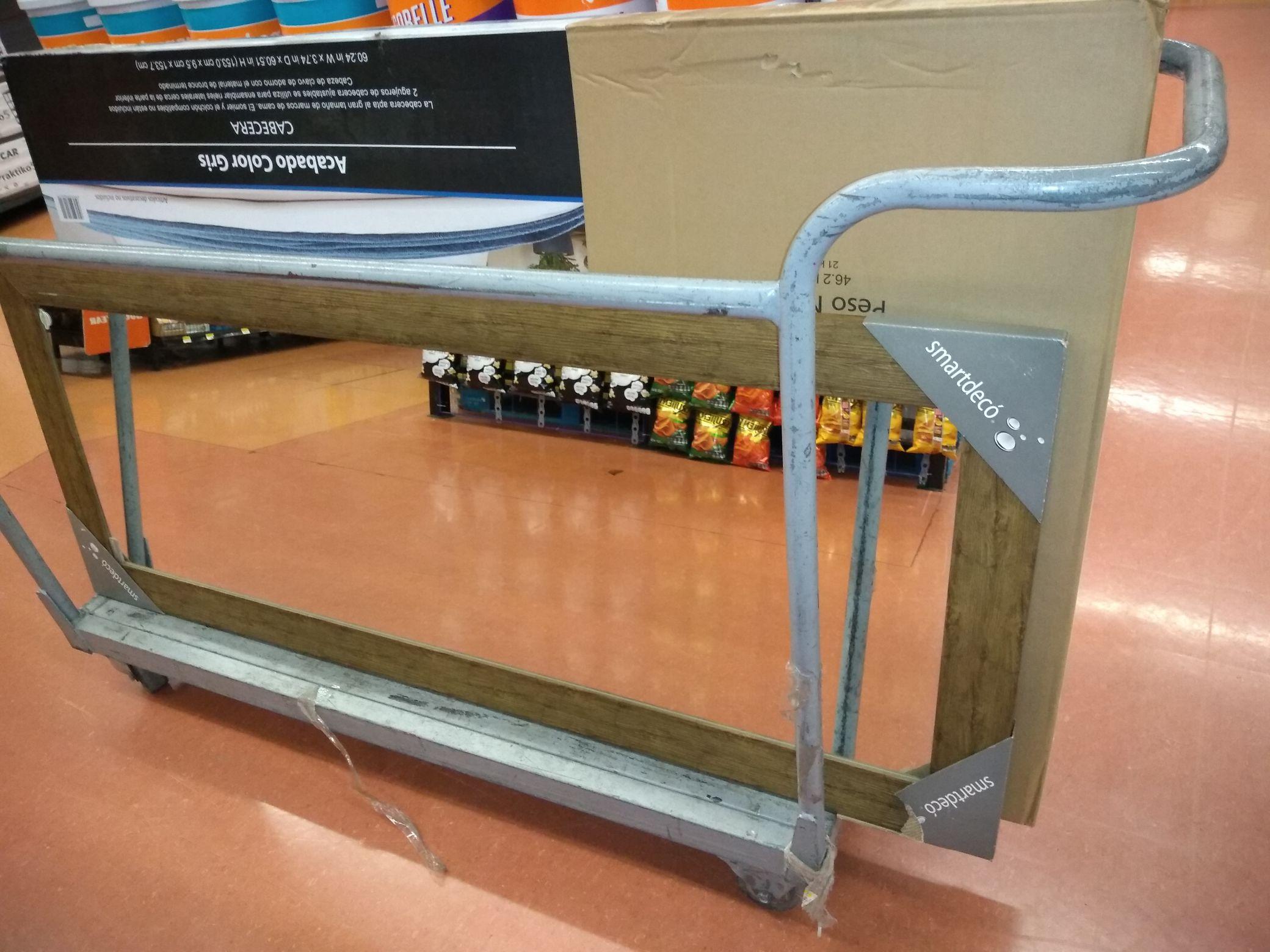 Walmart: Espejo de cuerpo completo 170 y cabecera estoperoles en última liquidación