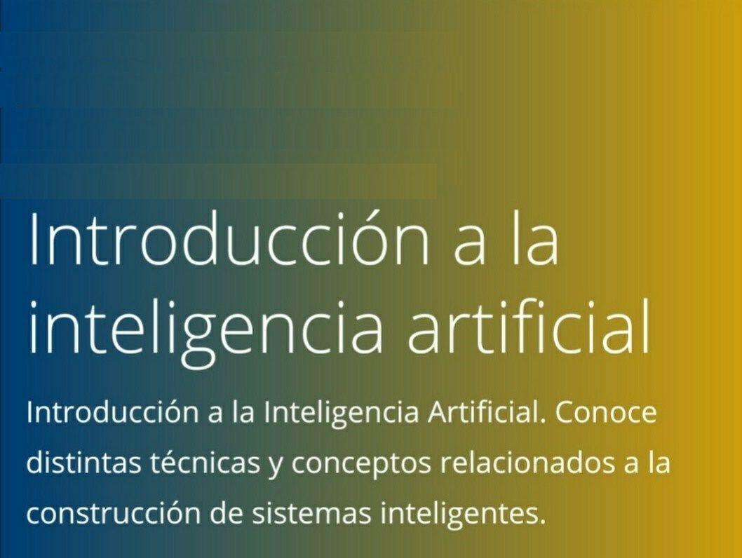 Coursera Programa especializado. Introducción a la inteligencia artificial