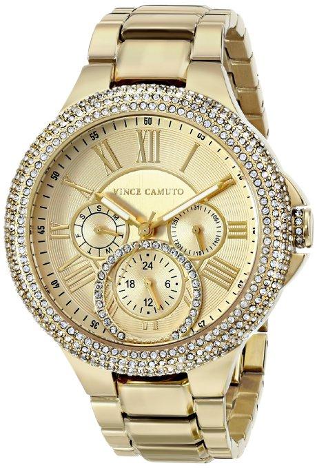 Amazon, Reloj Dorado Vince Camuto VC/5178CHGB