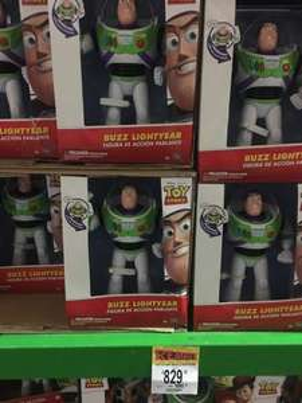 Bodega Aurrerá: Figuras toy story parlantes
