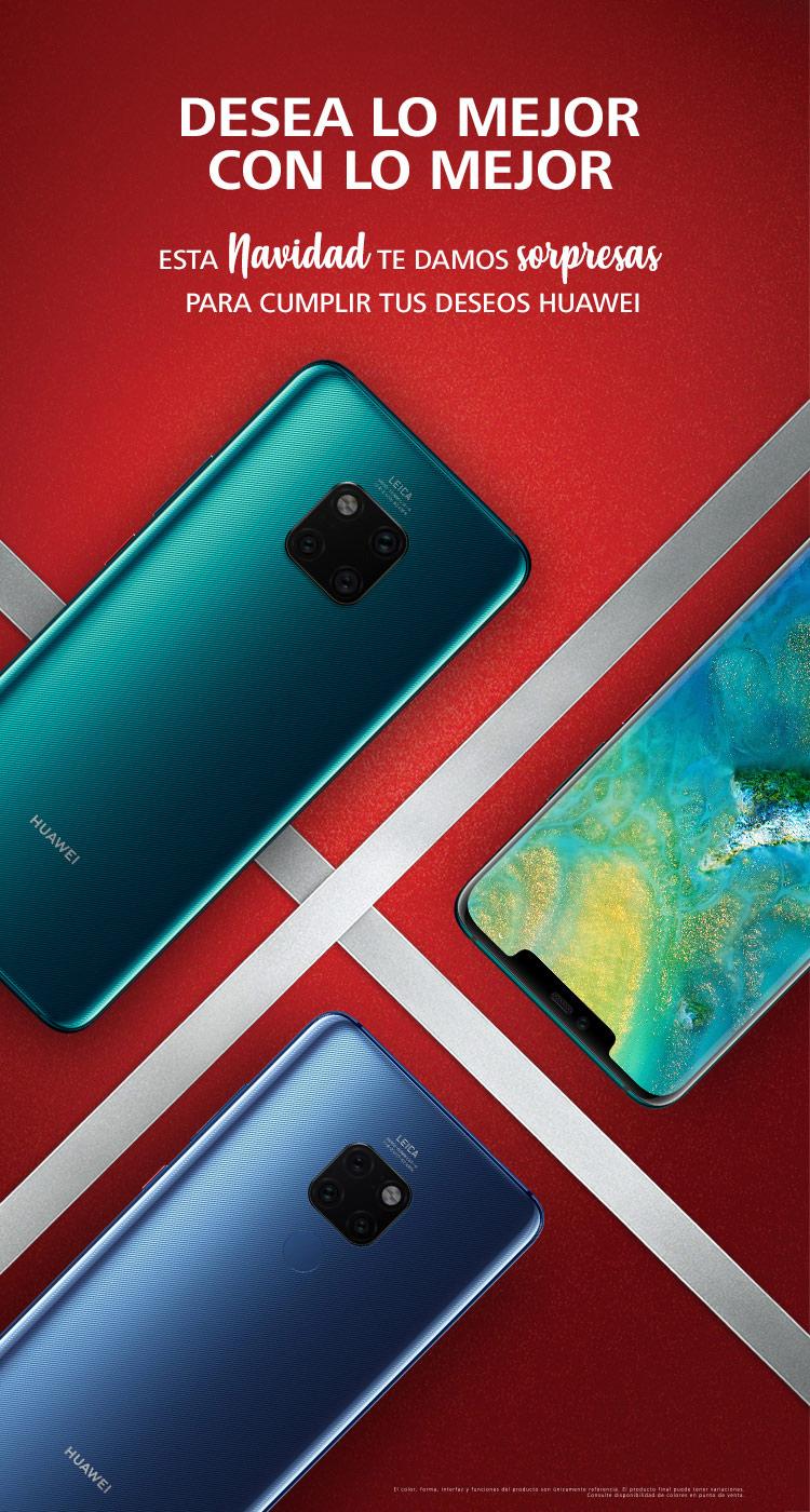 Huawei: HUAWEI P20 lite en la compra de 1 HUAWEI Mate 20 o HUAWEI Mate 20 Pro
