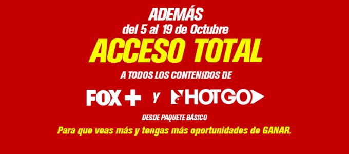 Dishmovil: acceso total a FOX+ y HotGO
