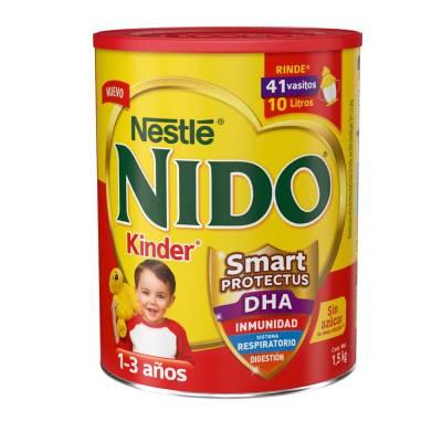 Farmacia SanPablo: NIDO KINDER PROTECTUS LATA DE 1.8KG + LATA DE 360G DE 1-3 AÑOS
