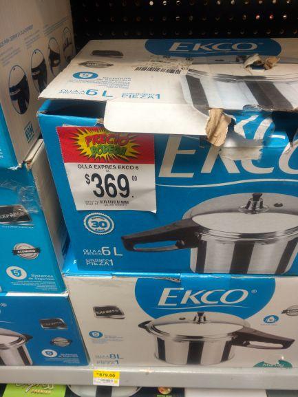 Bodega Aurrera Oaxaca: Olla express Ecko 6L