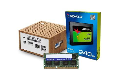 Tienda ofical Adata en Mercadolibre: Computadora Pc Mini Intel Dual Core Ssd 240gb 8gb