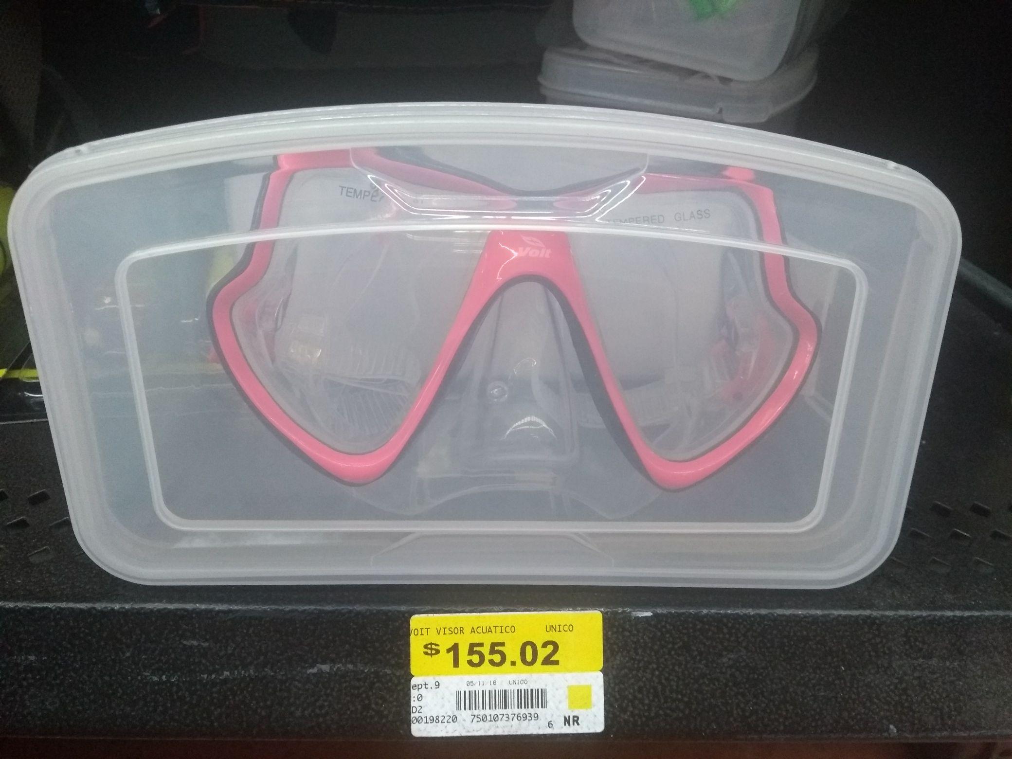 Walmart visor acuático VOIT