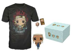 Amazon: Bundle Game of Thrones Funko + Llavero + Playera