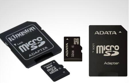 Groupon: $249 por 2 memorias Kingston micro SD de 8 GB o memoria Adata micro SD de 32 GB