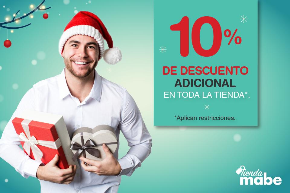 Tienda Mabe: 10% de descuento adicional
