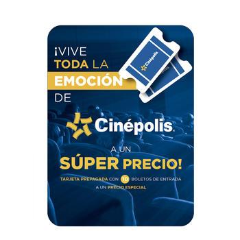 Costco: Cinépolis CINEPASS con 10 boletos de entrada