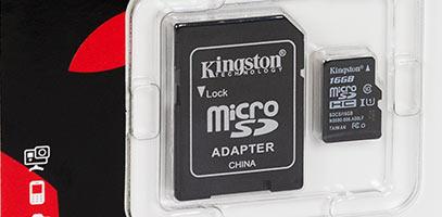 PCEL: Memoria Micro SD 16Gb clase 10