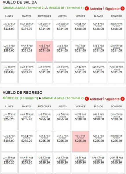 Vivaaerobus: vuelos nacionales $3.20 más impuestos