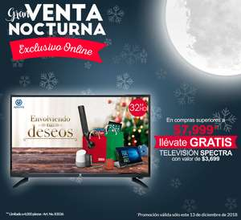 """Office Depot solo Online: Venta Nocturna, 12 MSI con Paypal y TV HD 32"""" gratis en compras mayores a $7999"""