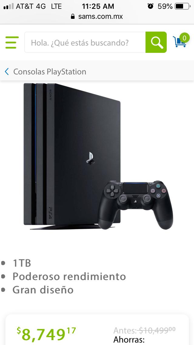 Sam's Club: PlayStation 4 Pro 1TB