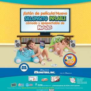 Huggies: silloncitos inflables