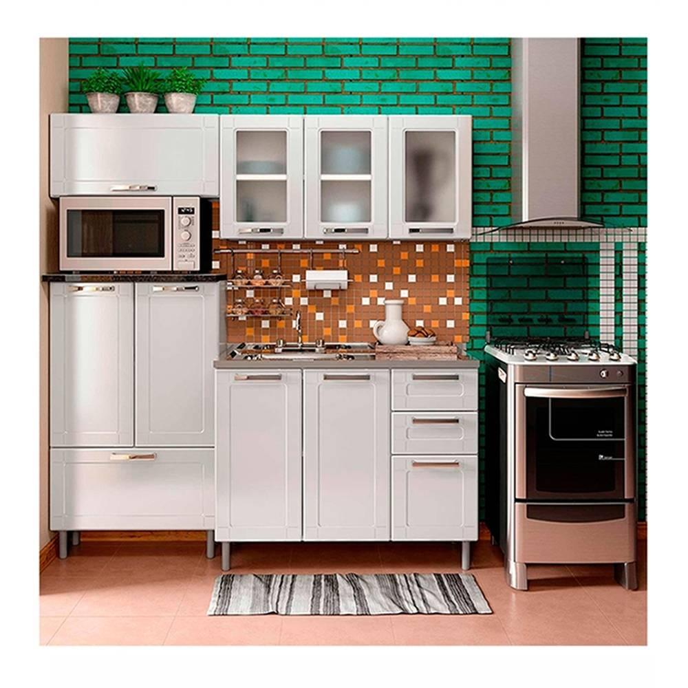 Walmart: Cocina Integral Bertolini Multipla Blanca 4 Piezas