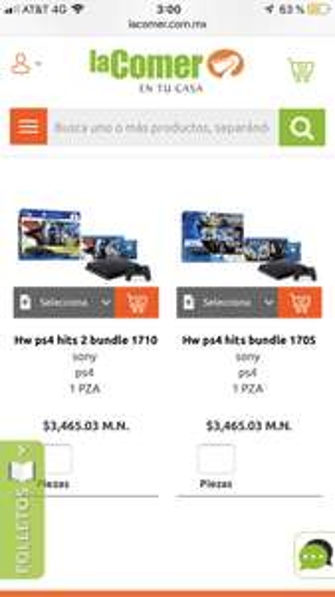 La Comer: Consolas de PS4 slim 500 gb bundle