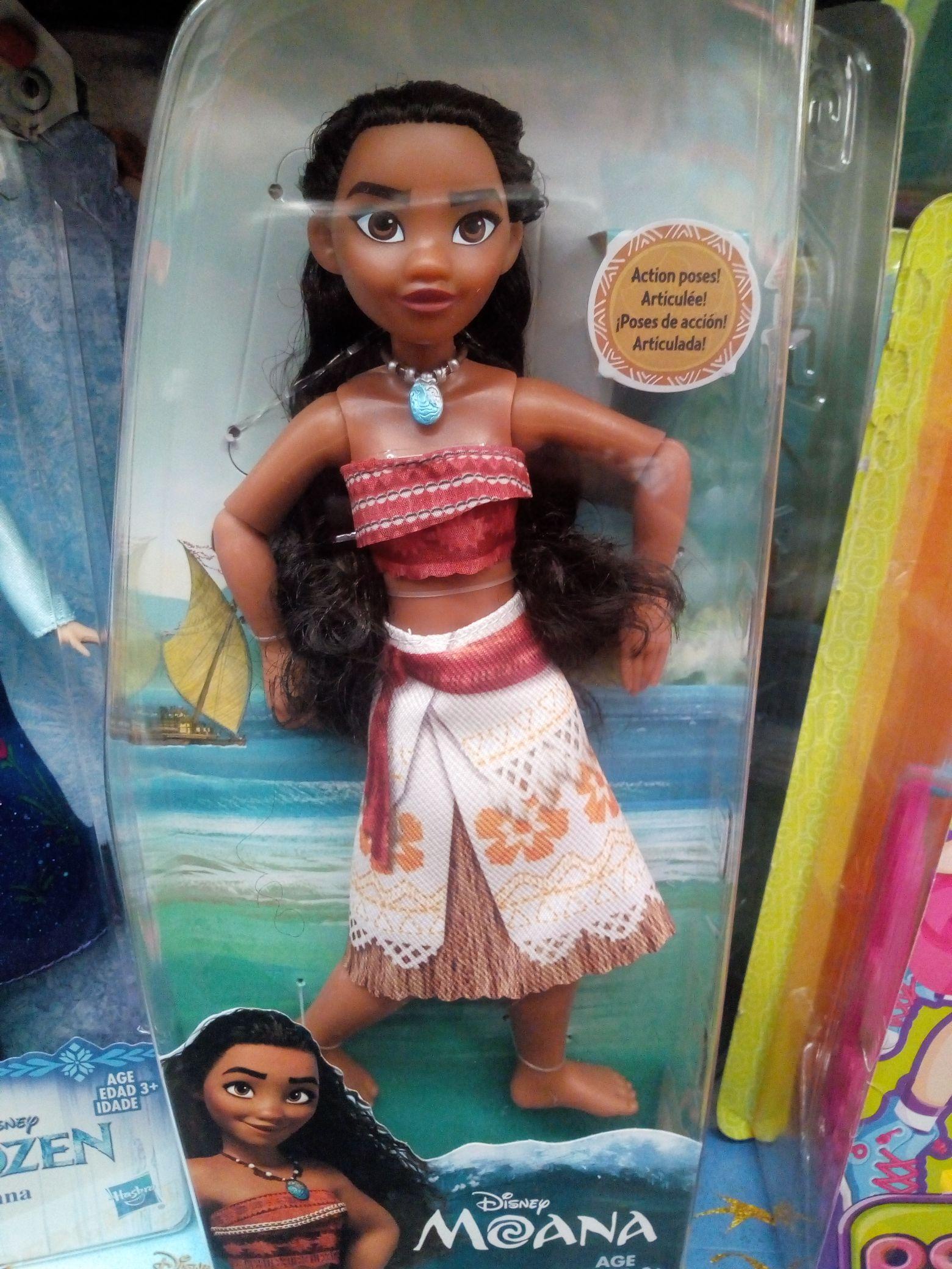 Bodega Aurrerá:  muñeca moana