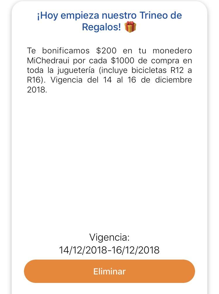 Chedraui: $200 de bonificación en monedero por cada $1000 en juguetería