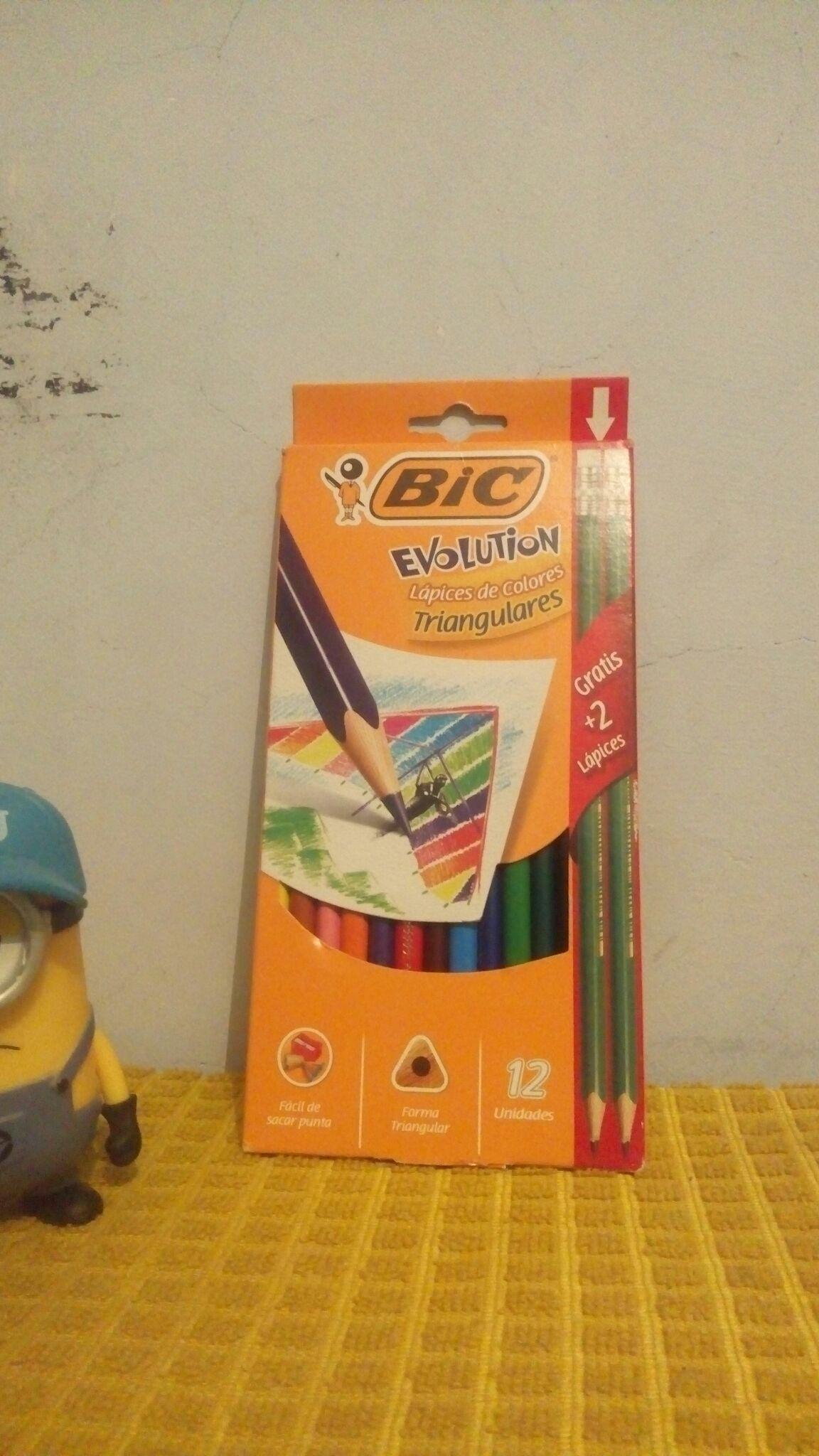 Walmart: Colores Bic Evolution + 2 lápices