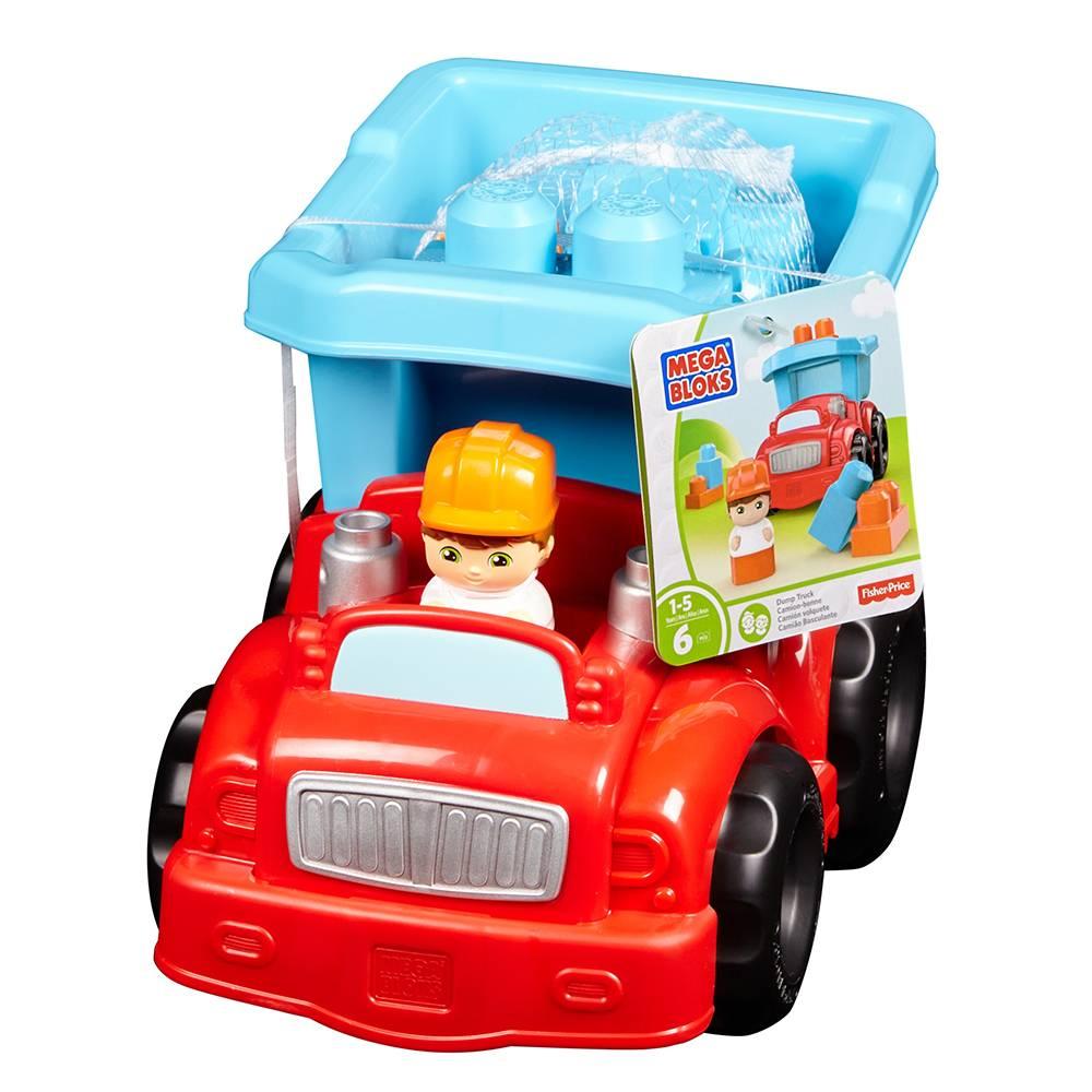 Walmart: Varios juguetes con descuento (ej. Camión de Volteo First Builders Mattel $99)