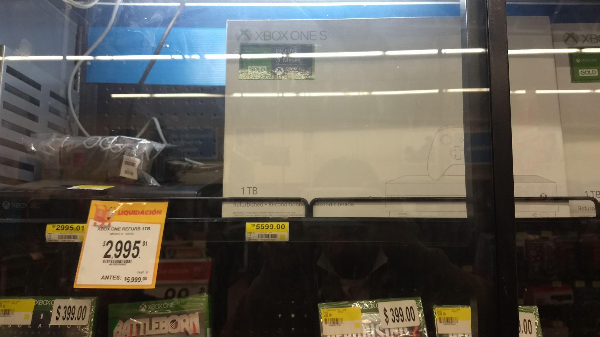 Walmart: Xbox One S Refurbished 1TB