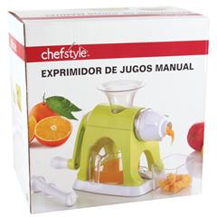 HEB online: Exprimidor Manual de Jugos CHEFSTYLE a $59.80
