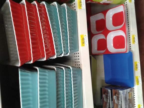Walmart: contenedores de ceramica 2 compartimientos a $75.02